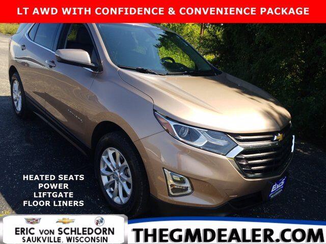 2018 Chevrolet Equinox LT AWD 1.5L Turbo Confidence&ConveniencePkg w/HtdCloth PowerLiftgate RearCamera Milwaukee WI