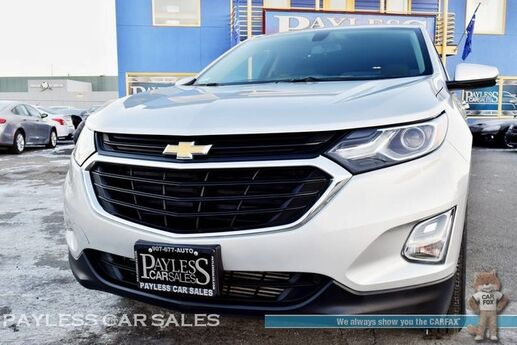 2018 Chevrolet Equinox LT / AWD / Automatic / Power Driver's Seat / Bluetooth / Back Up Camera / Cruise Control / 30 MPG / 1-Owner Anchorage AK