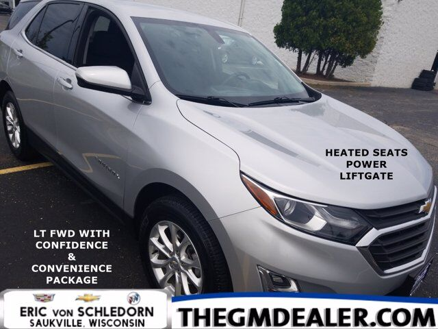 2018 Chevrolet Equinox LT FWD 1.5L Turbo Confidence&ConveniencePkg w/HtdCloth PowerLiftgate MyLink RearCamera Milwaukee WI