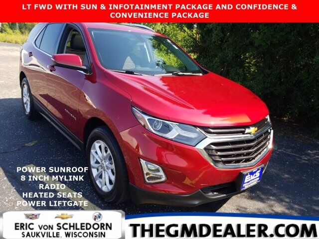 2018 Chevrolet Equinox LT FWD 1.5L Turbo Sun&Infotainment Conf&ConvPkgs w/Sunroof 8-InchMyLink HtdCloth PwrLiftgate RearCam Milwaukee WI