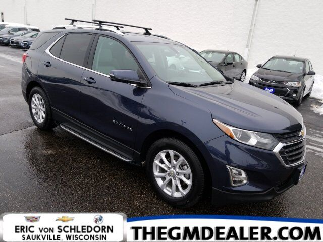 2018 Chevrolet Equinox LT FWD 1.6L TurboDiesel Hit-TheRoad InfotainmentPkgs w/Sunroof 8InchMyLink HtdCloth PowerLiftgate Milwaukee WI