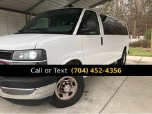 2018_Chevrolet_Express_LT 3500 12 PASSENGERS_ Charlotte and Monroe NC