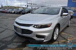2018_Chevrolet_Malibu_LT / Auto Start / Heated Leather Seats / Bose Speakers / Bluetooth / Back Up Camera / Keyless Entry & Start / Aluminum Wheels / 36 MPG / 1-Owner_ Anchorage AK