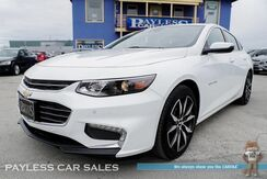 2018_Chevrolet_Malibu_LT / Driver Confidence Pkg / Power & Heated Leather Seats / Panoramic Sunroof / Navigation / Auto Start / Bose Speakers / Bluetooth / Blind Spot & Lane Departure Alert / Back-Up Camera / 36 MPG / 1-Owner_ Anchorage AK
