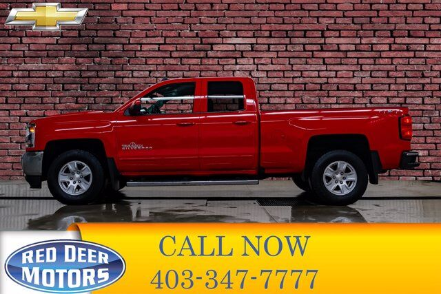 2018 Chevrolet Silverado 1500 4x4 Double Cab LT True North Edition Red Deer AB
