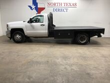 2018_Chevrolet_Silverado 3500HD_FREE HOME DELIVERY! 3500 Dually Flat Bed Regular Cab_ Mansfield TX