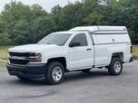 2018 Chevrolet Silverado 4x4 8' Bed w Cap