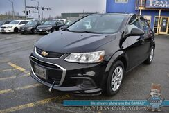 2018_Chevrolet_Sonic_LS / Automatic / Bluetooth / Back Up Camera / Android Auto & Apple Carplay / Cruise Control / Block Heater / 34 MPG / Only 9k Miles / 1-Owner_ Anchorage AK