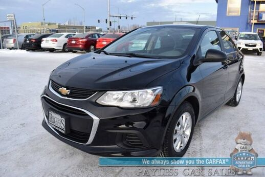 2018 Chevrolet Sonic LT / Automatic / Auto Start / Power Locks & Windows / Bluetooth / Back Up Camera / Cruise Control / 34 MPG / Only 15k Miles / 1-Owner Anchorage AK