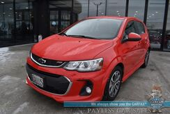 2018_Chevrolet_Sonic_LT / RS Pkg / Automatic / Heated Seats / Sunroof / Bluetooth / Back Up Camera / Keyless Entry & Start / Cruise Control / 35 MPG_ Anchorage AK