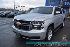 2018_Chevrolet_Suburban_LT / 4X4 / Auto Start / Heated Leather Seats / Navigation / Bose Speakers / 3rd Row / Seats 8 / Bluetooth / Back Up Camera / Tow Pkg / 22 MPG_ Anchorage AK