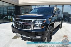 2018_Chevrolet_Suburban_LT / Z71 Midnight Edition / Luxury Pkg / Auto Start / Heated Leather Seats / Heated Steering Wheel / Bose Speakers / Navigation / Sunroof / Rear Entertainment / Heated Rear Captain Chairs / 3rd Row / Tow Pkg / 1-Owner_ Anchorage AK