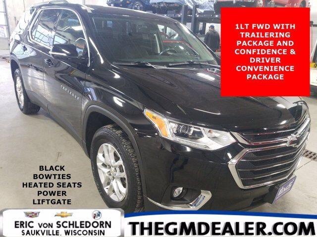 2018 Chevrolet Traverse 1LT FWD Convenience&DriverConfidence TraileringPkgs w/BlackBowties HtdCloth PwrLiftgate RearCam Milwaukee WI