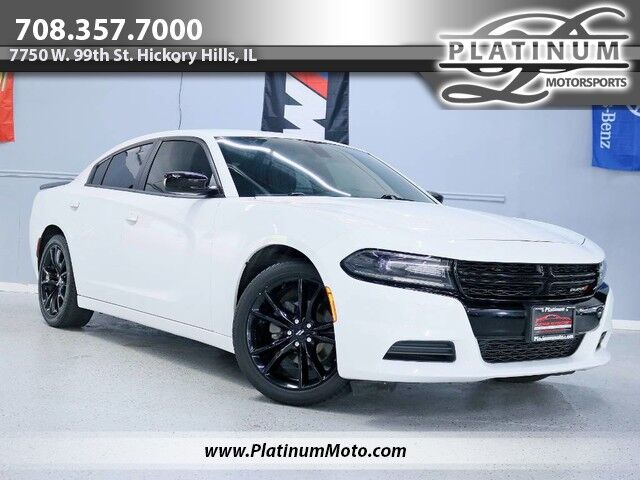 2018 Dodge Charger SXT 2 Owner California Car Blacktop Edition Carfax Certified Hickory Hills IL