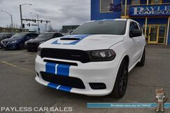 2018_Dodge_Durango_R/T / AWD / Blacktop Pkg / 5.7L HEMI V8 / Heated & Cooled Leather Seats / Heated Steering Wheel / Rear Heated Seats / Navigation / Beats Audio Speakers / Sunroof / 3rd Row / Seats 7 / Auto Start / Back Up Camera / 1-Owner_ Anchorage AK