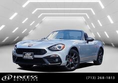 FIAT 124 Spider Abarth Turbo Auto RWD Convertible Premium. 2018