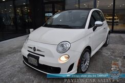 2018_FIAT_500_Lounge / Automatic / Heated Leather Seats / Sunroof / Bluetooth / Back Up Camera / Cruise Control / Aluminum Wheels / Only 3k Miles / 1-Owner_ Anchorage AK
