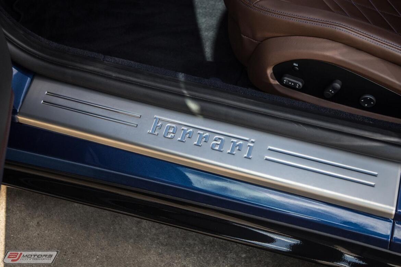 2018 Ferrari 812 Superfast TDF Blue w Blue Sterling Chocolate Tomball TX