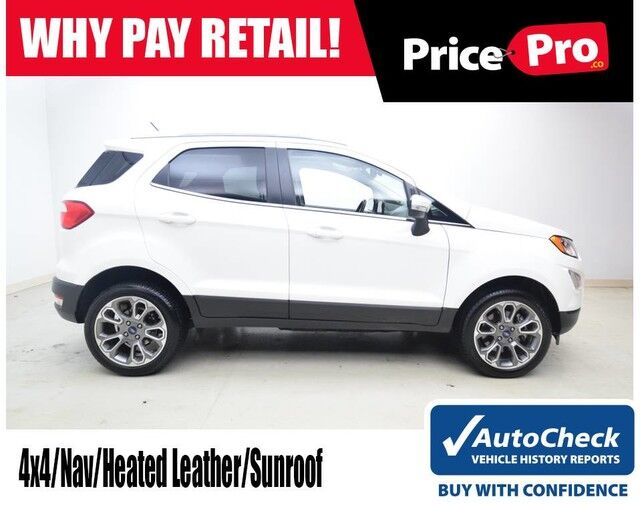 2018 Ford Ecosport Titanium 4wd Maumee Oh 27805863
