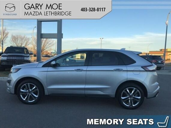 2018_Ford_Edge_Sport  - Leather Seats -  Bluetooth - $319.87 B/W_ Lethbridge AB