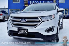 2018_Ford_Edge_Titanium / AWD / Heated & Ventilated Leather Seats / Auto Start / Panoramic Sunroof / Navigation / Sony Speakers / Microsoft Sync 3 Bluetooth / Back-Up Camera / 27 MPG / 1-Owner_ Anchorage AK