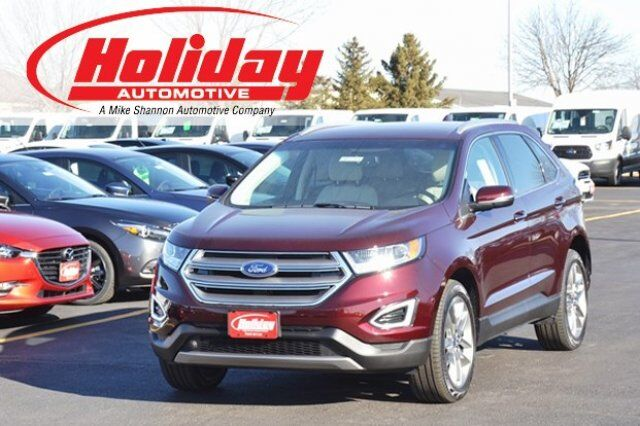 2018 ford edge titanium fond du lac wi 22953207. Black Bedroom Furniture Sets. Home Design Ideas
