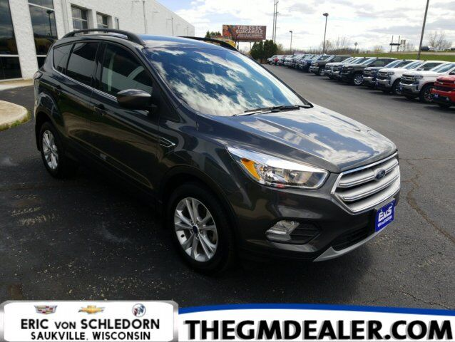 2018 Ford Escape SE FWD 1.5L EcoBoost Safe&SmartPkg w/AdaptiveCruise LaneKeepAssist HtdCloth RearCamera Milwaukee WI