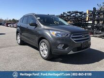 2018 Ford Escape SE South Burlington VT