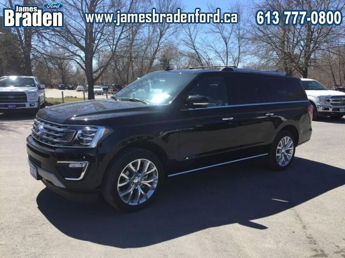 2018 Ford Expedition Limited Max  - Leather Seats Kingston ON