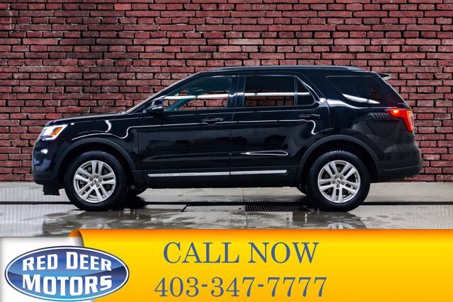 2018 Ford Explorer AWD XLT Leather Nav BCam Red Deer AB