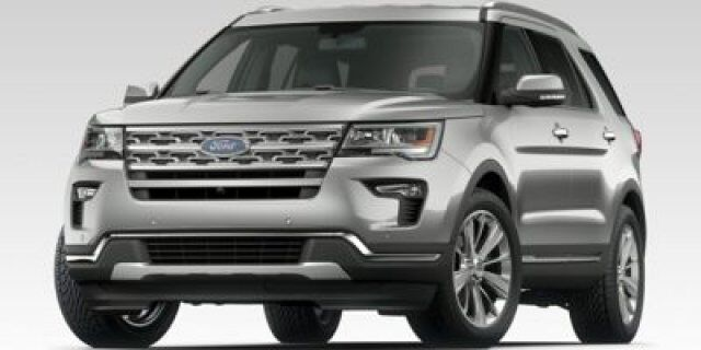 2018_Ford_Explorer_Limited_ Edmonton AB