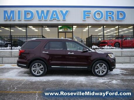 2018_Ford_Explorer_Limited_ Roseville MN