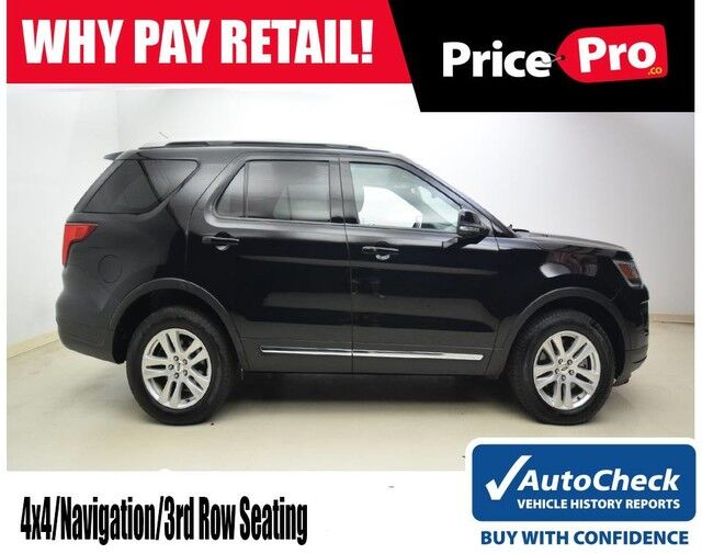2018 Ford Explorer XLT 4WD V6 w/Navigation & 3rd Row Seating Maumee OH