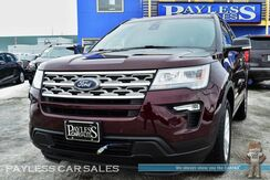 2018_Ford_Explorer_XLT / 4X4 / Heated Power Seats / Touchscreen Navigation / Dual Sunroof / 3rd Row / Seats 7 / Auto Start / Microsoft Sync Bluetooth / Back Up Camera / Tow Pkg / 1-Owner_ Anchorage AK
