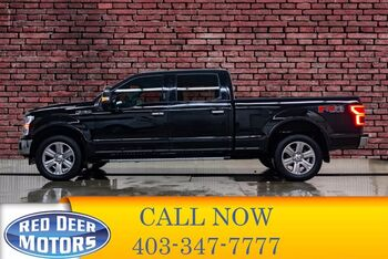 2018_Ford_F-150_4x4 Super Crew Lariat FX4 Longbox Leather Roof Nav_ Red Deer AB