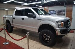 2018_Ford_F-150 CPO 84 MON 100K_XLT SUPER CREW CAB ,4WD, LEATHER, FACTORY WARRANTY ,LIFTED,_ Charlotte NC