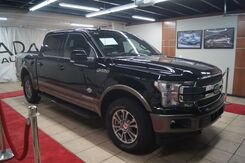 2018_Ford_F-150_King-Ranch SuperCrew 5.5-ft. 4WD TURBO DIESEL WITH SADDLE LEATHER_ Charlotte NC