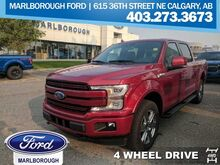 2018_Ford_F-150_Lariat  - Sunroof -  Tailgate Step_ Calgary AB
