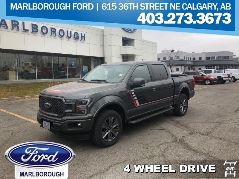 2018 Ford F 150 Lariat Sunroof Towing Package Calgary
