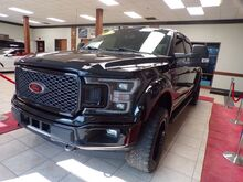 2018_Ford_F-150_Lariat SuperCrew 5.5-ft. Bed 4WD ##SPORT,LIFTED# RED LEATHER , PANO ROOF N_ Charlotte NC