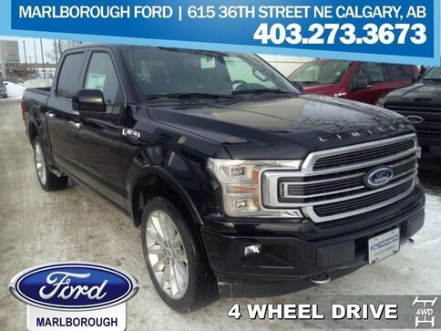 2018_Ford_F-150_Limited  - Navigation -  Leather Seats_ Calgary AB
