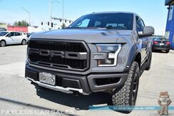 2018_Ford_F-150_Raptor / FX4 Pkg / 4X4 / Crew Cab / Heated & Ventilated Leather Seats / Heated Steering Wheel / Navigation / Sunroof / B&O Speakers / Driver Alert Pkg / Bluetooth / 360 View Camera / Adaptive Cruise / Blind Spot & Lane Alert / Tow Pkg / 1-Owner_ Anchorage AK