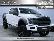 2018_Ford_F-150 Roush_1 Owner Edelbrock Supercharger Borla Exhaust Airriad Intake BDS Lift Kit_ Hickory Hills IL