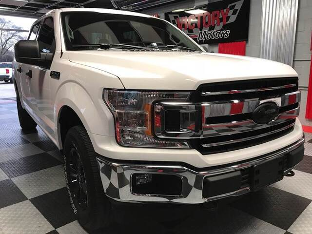 2018 Ford F-150 XLT 4x4 4dr SuperCrew 5.5 ft. SB Chesterfield MI