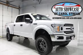 Ford F-150 XLT Crew Cab 4X4 Lifted 2018