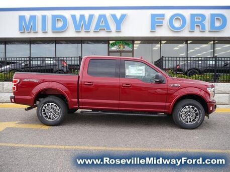 2018_Ford_F-150_XLT_ Roseville MN