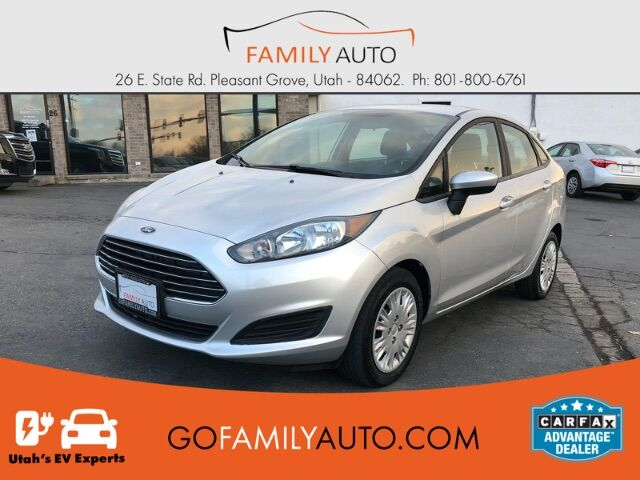 2018 Ford Fiesta S Sedan Pleasant Grove UT