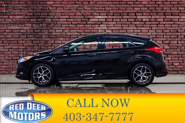 2018 Ford Focus SE Hatchback BCam Heated Seats Red Deer AB