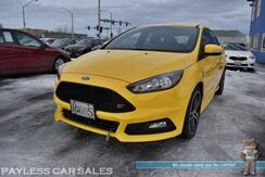 2018_Ford_Focus_ST / 6-Spd Manual / Turbocharged / Bluetooth / Back Up Camera / Keyless Entry & Start / 18in Aluminum Wheels / Cruise Control / Block Heater / 1-Owner_ Anchorage AK