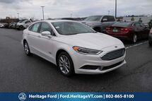 2018 Ford Fusion Energi SE South Burlington VT